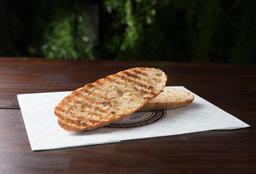 Pão Ciabatta na Chapa com Azeite e Sal Marinho