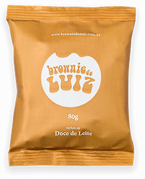 Brownie de Doce de Leite - 80g