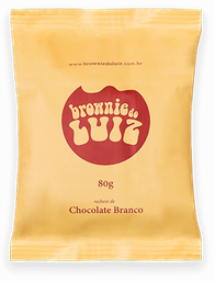 Brownie de Chocolate Branco - 80g
