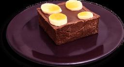 Tortinha De Chocolate Com Banana