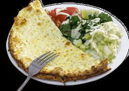 Lahmajun de Mussarela + Salada + Molho