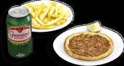 Esfiha + Batata ou Kibe + Bebida em Lata