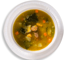 Sopa De Carne Batata Doce E Legumes