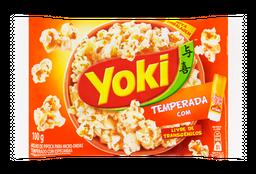 Pipoca de Microondas Temperada com Toque do Chef - Yoki