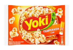 Pipoca de Microondas Temperada com Toque do Chef - Yoki