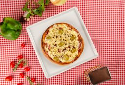 Pizza de Calabresa com Catupiry - 016