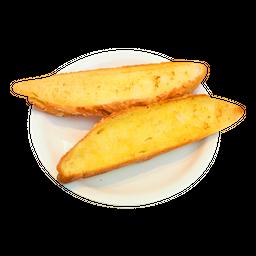 Baguetinha com Manteiga na Chapa