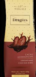 Chocolate Nugali Drageado Cacau Com Chocolate Ao Leite 150 g