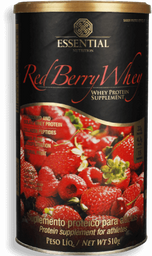 Suplemento Alimentar Essential Whey Red Berry 510 g