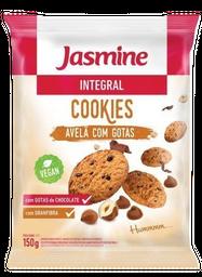 Cookies Jasmine Avelã E Gotas De Chocolate Integral 150 g
