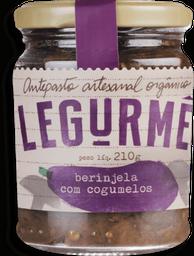 Antepasto Legurmê Orgânico Berinjela Com Cogumelos 210 g