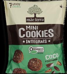 Cookies Mãe Terra Integral Coco E Castanha Do Pará 120 g
