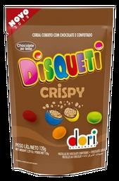 Cereal Com Cobertura De Chocolate Disqueti Crispy 120 g