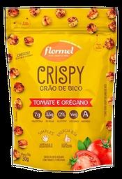 Snack Flormel Crispy Grão de Bico Tomate e Orégano 30 g