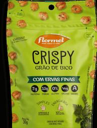 Snack Flormel Crispy Grão de Bico Com Ervas Finas 30 g