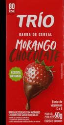 Barra De Cereal Trio Light Morango com Chocolate 60 g