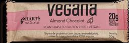 Barra Vegana Hart's Almond Chocolate sem Glúten 65 g