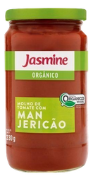 Molho Jasmine De Tomate Com Manjericão Orgânico 330 g