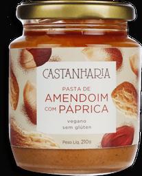 Pasta Castanharia Amendoim Com Paprica Defumada 210 g