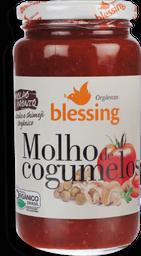 Molho Blessing Orgânico De Tomate Com Cogumelo 330 g
