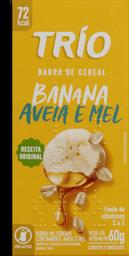 Barra De Cereal Trio Light Banana Aveia e Mel 60 g