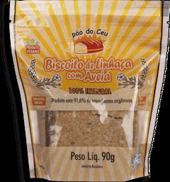 Biscoito Duceu Linhaça 100% Integral Orgânico 90 g