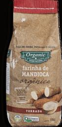 Farinha S.Hevea Mandioca Torrada Orgânica 500 g