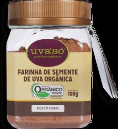 Farinha De Semente Econatura De Uva Orgânica 100 g