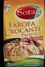 Farofa Sora Proteína de Soja Tempero Caseiro 300 g