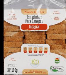 Torrada Via Delícia Canape Integral Orgânico 100 g