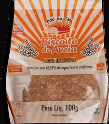 Biscoito Duceu Aveia 100% Integral Orgânico 100 g