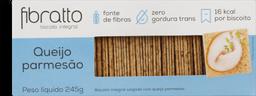 Biscoito Fibratto Integral Queijo Parmesão 245 g