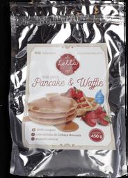Mix Lella Para Pancakes E Waffles Integral 450 g