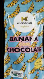 Snack Monama Banana Com Chocolate Orgânica 100 g