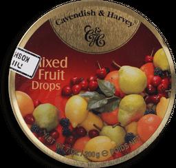 Bala Cavendish & Harvey Mixed Fruit Drops 200 g