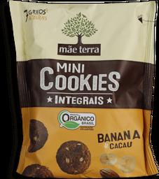 Cookies Mãe Terra Integral Banana E Cacau 120 g
