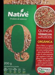 Flocos Native De Quinoa Vermelha Orgânica 200 g