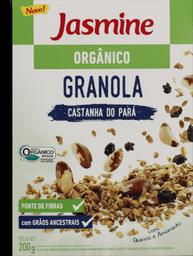 Granola Jasmine Orgânica Castanha Do Pará 200 g