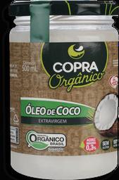 Óleo De Coco Copra Extra Virgem Orgânico 500 mL
