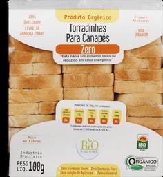 Torrada Via Delícia Canapés Zero Orgânica 100 g