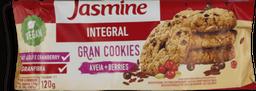 Cookies Jasmine Aveia e Berries Integral 120 g