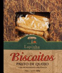 Biscoito Lapinha Palito Queijo Orgânico 200 g