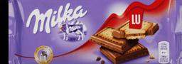 Chocolate Milka Lu ao Leite Com Biscoito 87 g