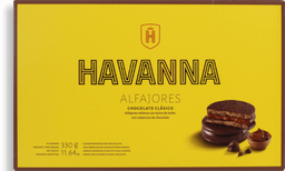 Alfajor Havanna de Chocolate Com 6 U
