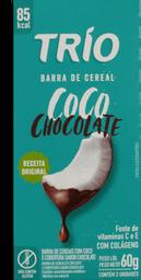 Barra De Cereal Trio Coco com Chocolate 60 g