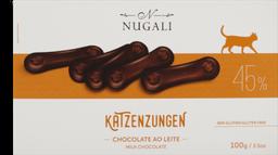 Chocolate Nugali Katzenzungen Ao Leite 100 g