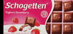 Chocolate Schogetten Iogurte e Morango 100 g