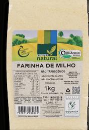 Farinha De Milho Coopernatural Orgânico 1 Kg