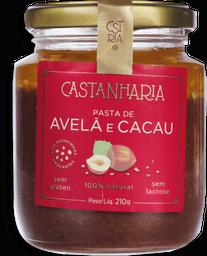 Pasta Castanharia Sem Lactose De Avelã 210 g