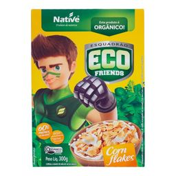 Cereal Eco Friends Native Corn Flakes 300 g